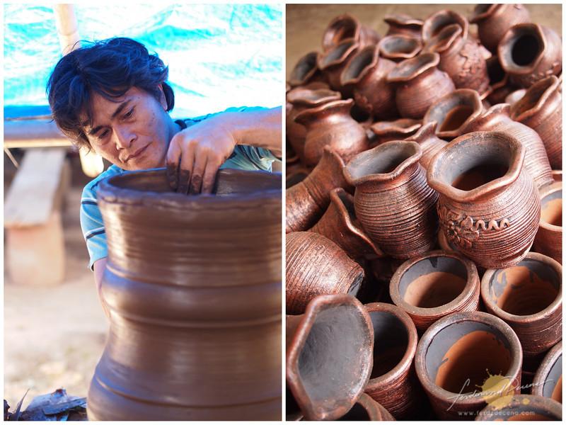 Pottery at Pulutan Village