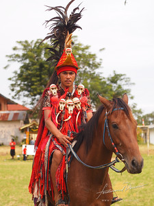 Tomohon International Flower Festival Minahasa Warrior