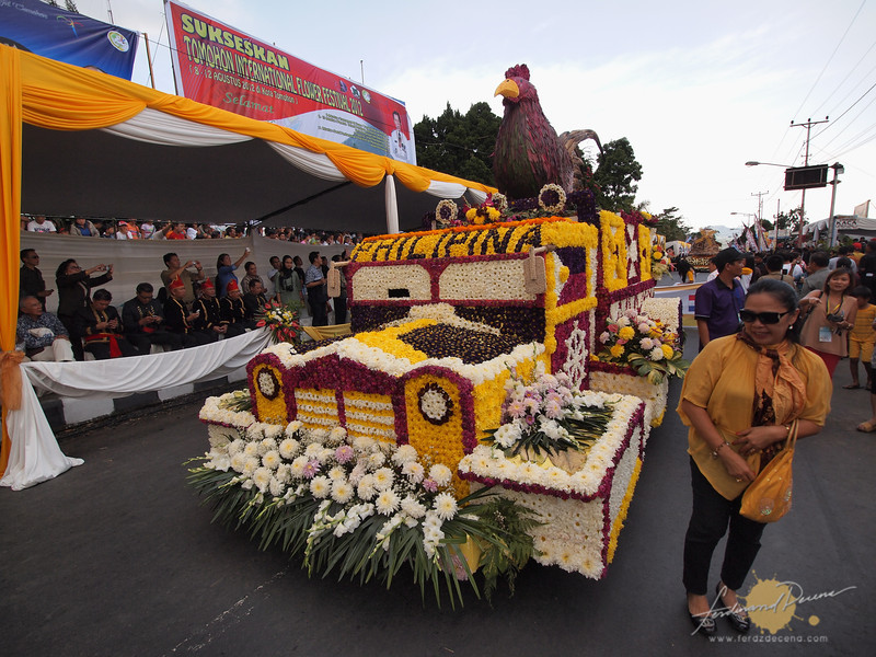 The Philippines represented in a float in last year's festival