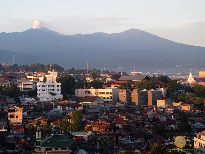 Overview of Manado City, Capital of North Sulawesi