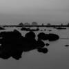 Faux dusk scene as the tide starts rolling back in
