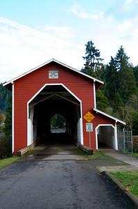 The Office Covered Bridge in Oregon November 10, 2012