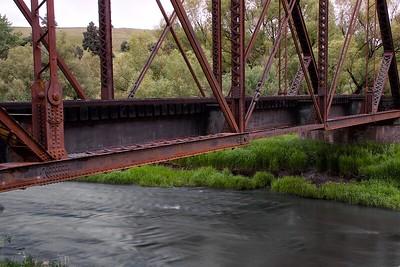 Railroad bridge in the Palouse