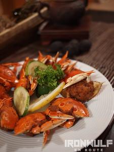 Rilleno Crab, Pandan Beach Resort