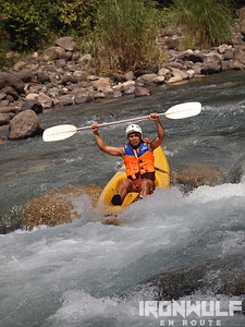 White Water kayak, Tibiao