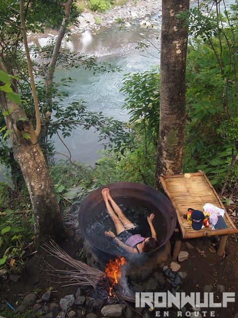 Kawa Hot Bath at Tibiao