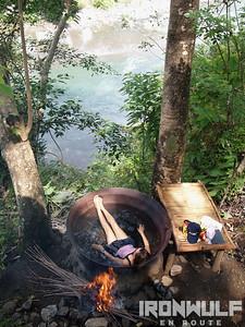Kawa Hot Bath, Tibiao