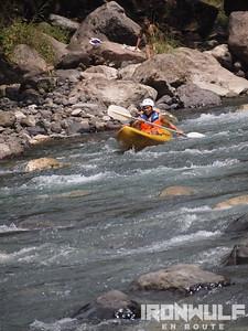White Water kayak, Tibiao