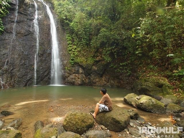 Bugtong Bato 1st falls