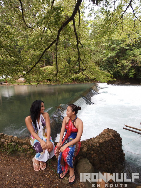 Chilling and chat at Malumpati Springs