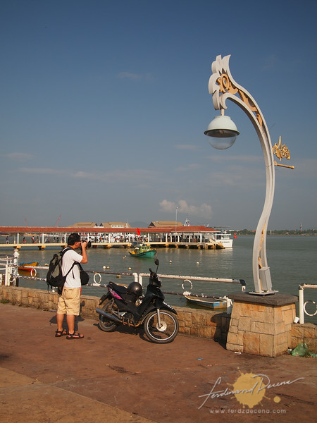 Terengganu Bay and the port to Palau Redang