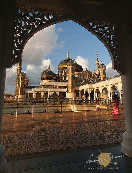 The Masjid Kristal framed