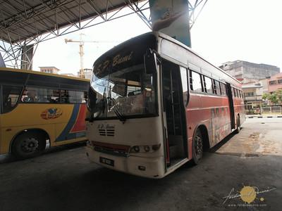 SP Bumi Bus to Kuala Besut