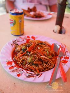 Lunch at Kuala Besut Jetty