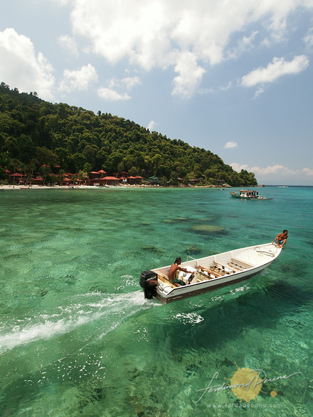 Welcome to Coral Bay Beach, Perhentian Kecil