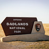 Entering Badlands National Park