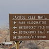 Arriving at Capitol Reef National Park