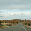Scene as we drive toward Dead Horse Point State Park