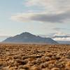 Looking across the desert