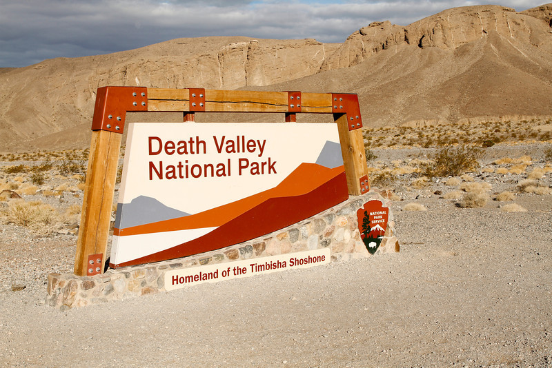 Death Valley – the largest American National Park outside of Alaska.