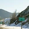 Entering Jackson, Wyoming