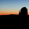 The East Mitten at sunrise - February 25, 2012