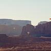 Balloon flight over Monument Valley