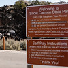 Instructions on how to pay Park entrance fee