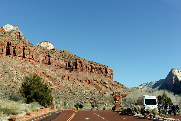 Zion Drive Through