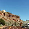 Entering Zion National Park - Driving through on the way to Monument Valley from Las Vegas
