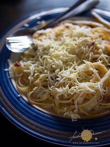 Salt and Pepper Diner Garlic Chips Pasta