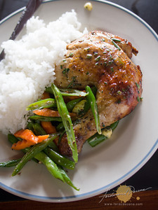 Salt and Pepper Diner - Rosemary Chicken