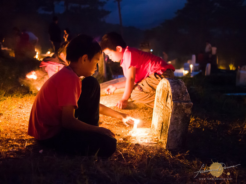 The panag-apoy festival in Sagada
