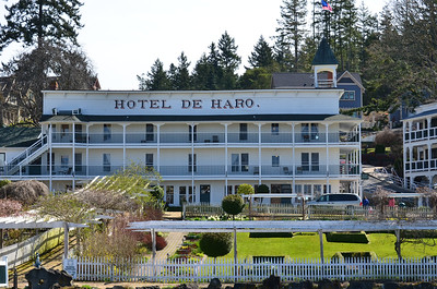 The Hotel De Haro at Roche Harbor, WA.