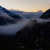 Final view of the day as I descend from Grimselpass down towards the Interlaken area. This valley is a staircase of hydro electric dams.
