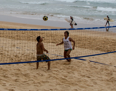 Footvolley At Manley