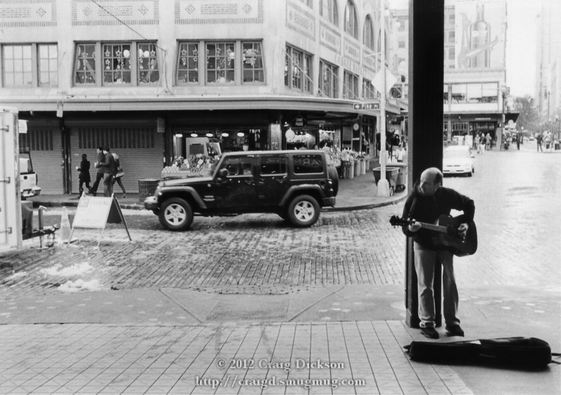 Pike Place musician