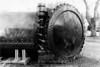 Very large pressure cooker outside the Bainbridge Island Historical Society