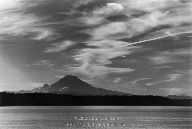 Mount Rainier from Puget Sound