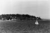 Sailboat off Bainbridge Island