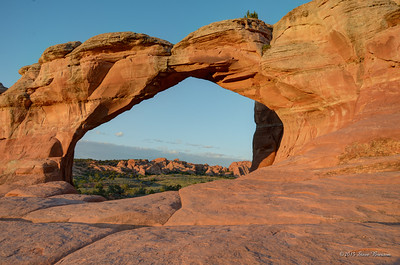 Broken Arch at Dawn