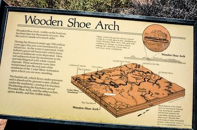 Wooden Shoe Arch