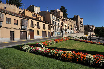 España, Segovia. World heritage city.