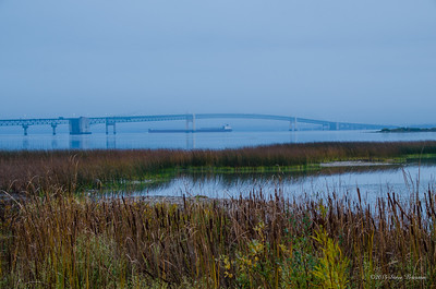 Mackinac Bridge North Shore