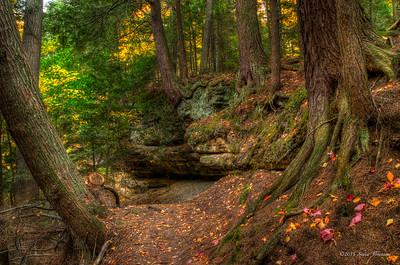 Memorial Falls trail, Munising