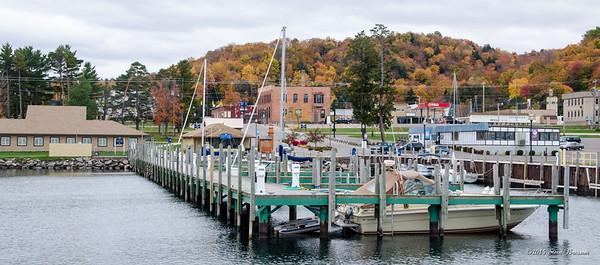 Downtown Munising Dock