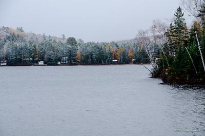A tiny lake