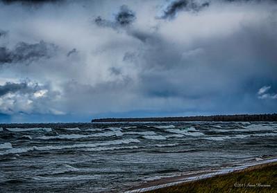 Lake Superior in October