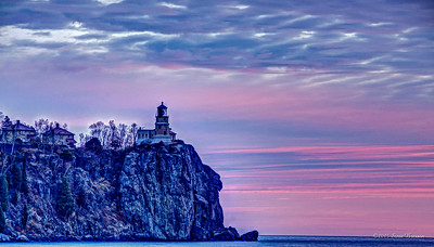 Split Rock at Dawn