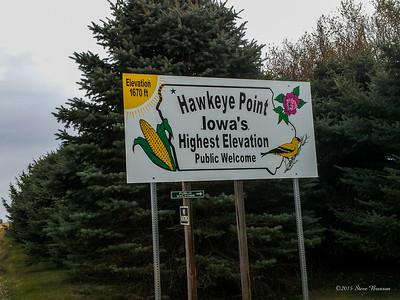 2012/10/11 Hawkeye Point - Iowa Highpoint